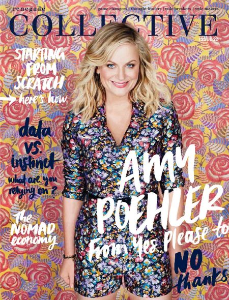 The collective mag Amy Poehler copy