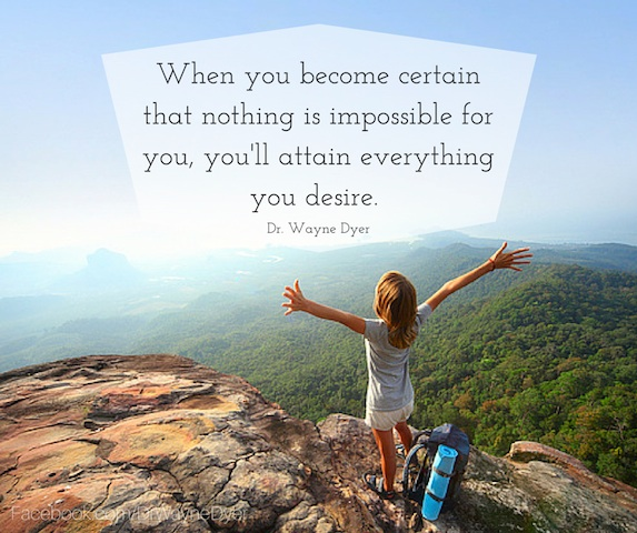 nothing is impossible copy